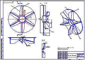 Как сделать крыльчатку для вентилятора своими руками 74